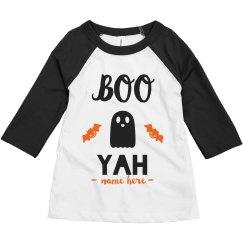 Boo Yah Toddler Raglan