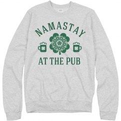 St. Patty's Namastay At The Pub