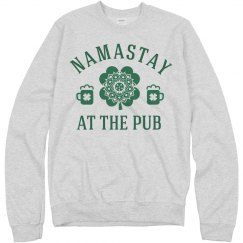 St. Patty's Namastay At The Pub