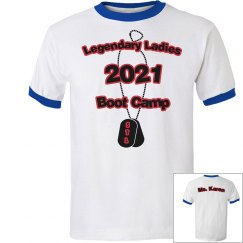Boot Camp Tee 2021 - Red