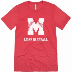 Lions Baseball M Tee