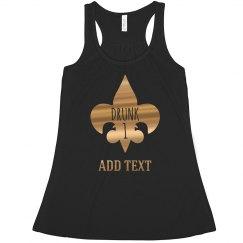 Metallic Drunk 1 Mardi Gras