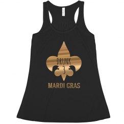 Metallic Drunk 3 Mardi Gras