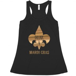 Metallic Drunk 4 Mardi Gras