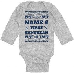 Baby's 1st Hanukkah Ugly Sweater