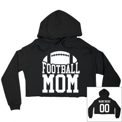 Trendy Football Mom Custom Name