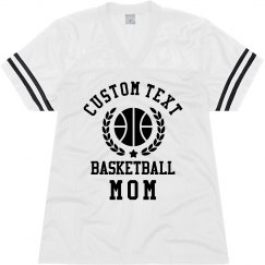 Customizable Basketball Mom Jersey