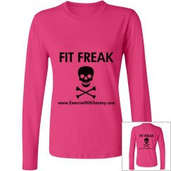 Fit Freak relaxed long sleeve tee
