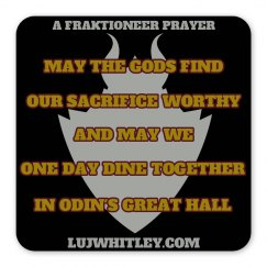 Fraktioneer Prayer Magnet