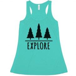 Explore The Woods Tank