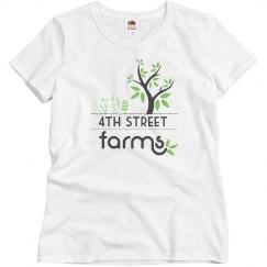 4th Street Farm Misses Tee