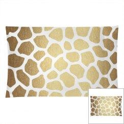 Gold Giraffe Animal Print