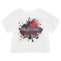 Mightonic Splat Crop Top