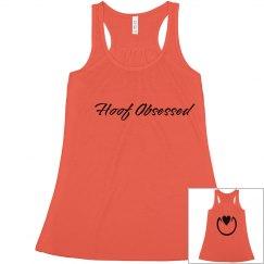 Hoof Obsessed Cursive Tank
