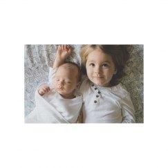 Adorable Custom Kids Photo Rug