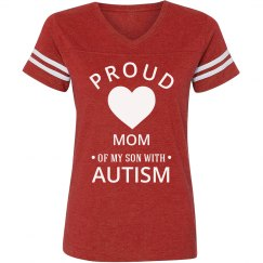 Proud mom of Autistic Son