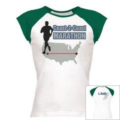 Marathon Run Tee w/ Back