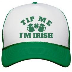 Tip Me I'm Irish St Pattys Hat