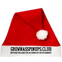 GROWNASSPINUPS.CLUB SANTA HAT
