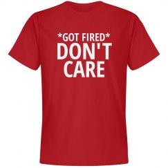 Got fired