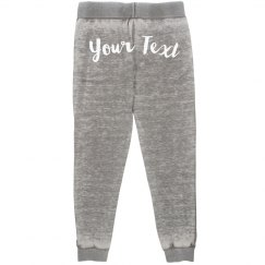 Custom Text Dance Jogger