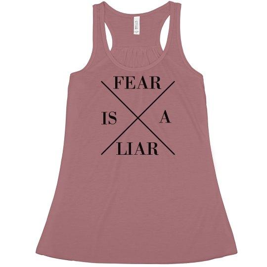 fear is a liar tank