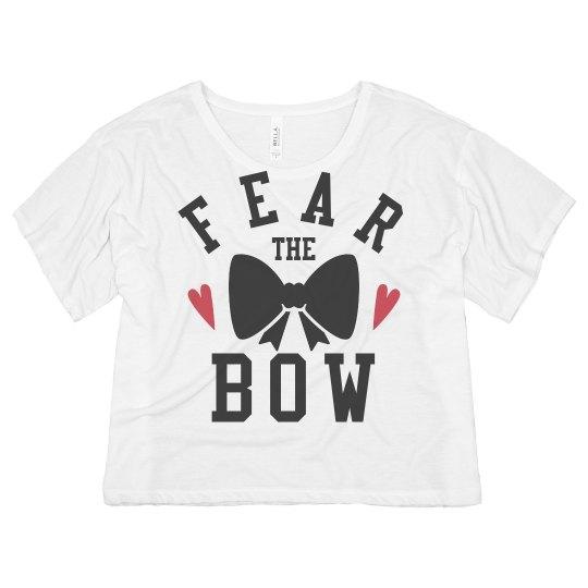 Fear The Bow Cheerleading Tee