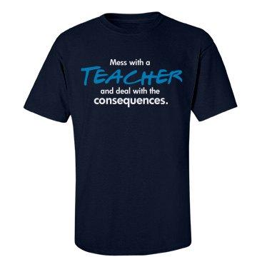 Fear the teacher
