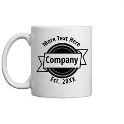 Custom Company Coffee Mug