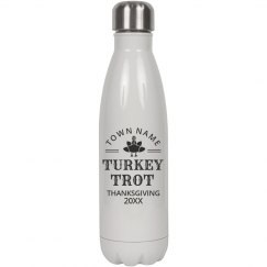Custom Turkey Trot Water Bottle