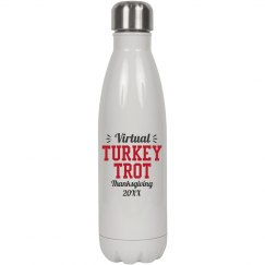Virtual Turkey Trot Water Bottle