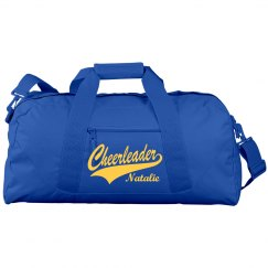 Cheer Gear Bag With Custom Name