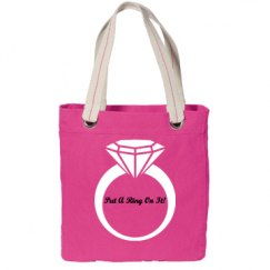 Put A Ring On It Tote