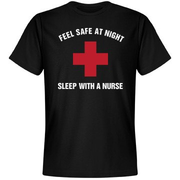 Feel safe sleep with a nurse