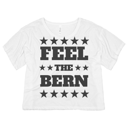 Feel The Bern Crop Top