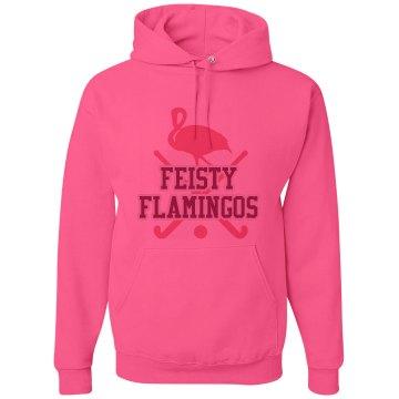 Feisty Flamingos