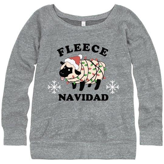 Feliz Navidad Sheep