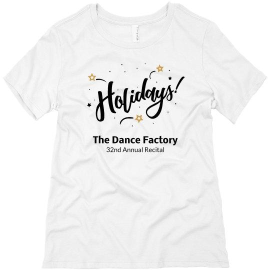 Female Adult Size Recital T-Shirt 2021