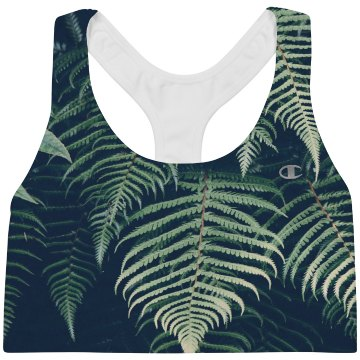 Ferns And Nature All Over Print