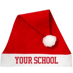 Custom School Santa Hat