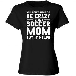 Crazy soccer mom