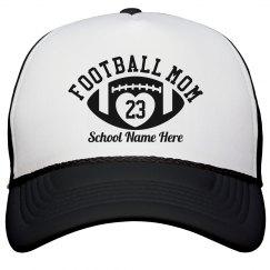 Custom Football Mom Hat