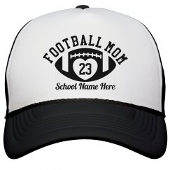 Custom Football Mom Hat