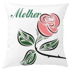 Floral Mum Cushion Cover