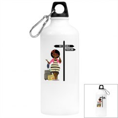 FGT Afro Aluminum Water Bottle