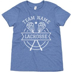 Lacrosse Custom Lax Team Name Youth Tee