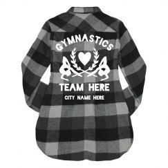 Trendy Gymnast Team Flannel