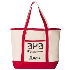 Personalized Canvas Tote APA