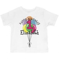 1 year old! Elizabeth