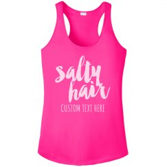 Custom Summer Travel Salty Hair